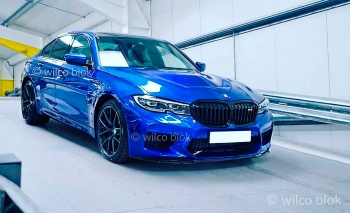 ¡Filtrado! El nuevo BMW M3 totalmente al descubierto en esta foto espía