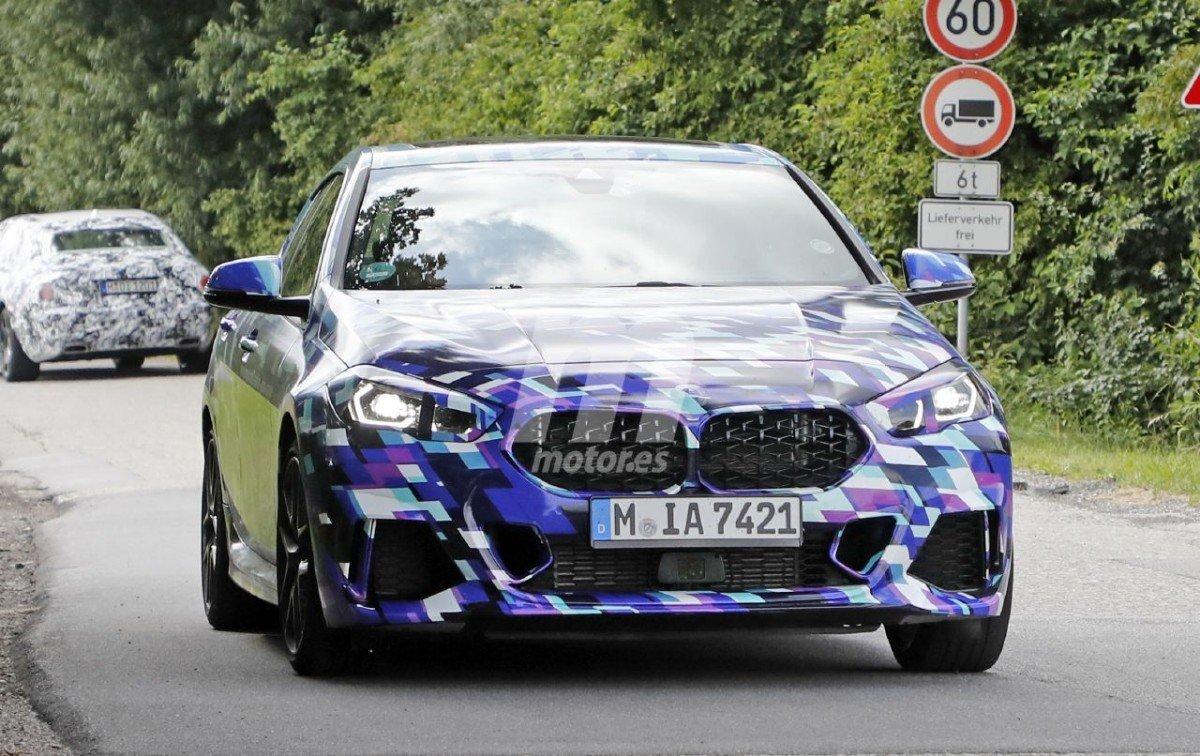 Cazamos al nuevo BMW M235i xDrive Gran Coupé con el camuflaje especial de pre-lanzamiento
