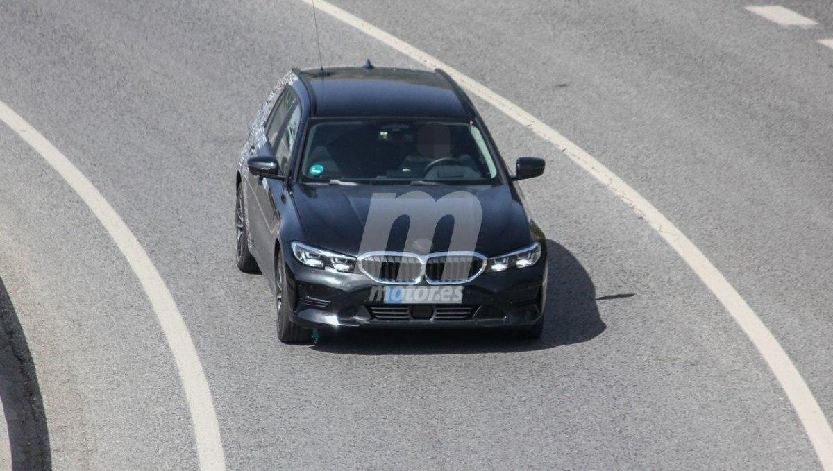 Nuevas fotos espía confirman al BMW Serie 3 330e Touring, el familiar híbrido enchufable