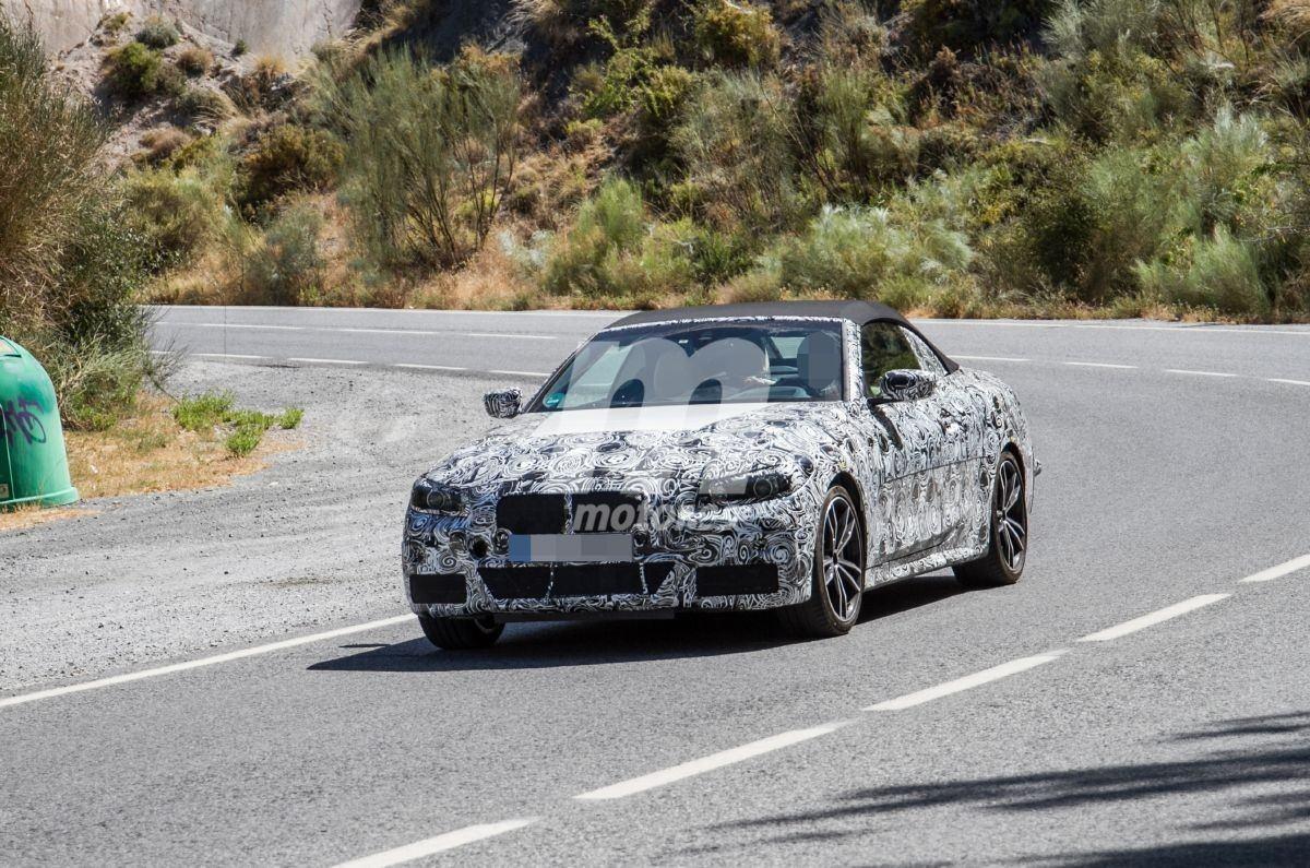 Los prototipos del futuro BMW Serie 4 M440i Cabrio se trasladan al sur de Europa