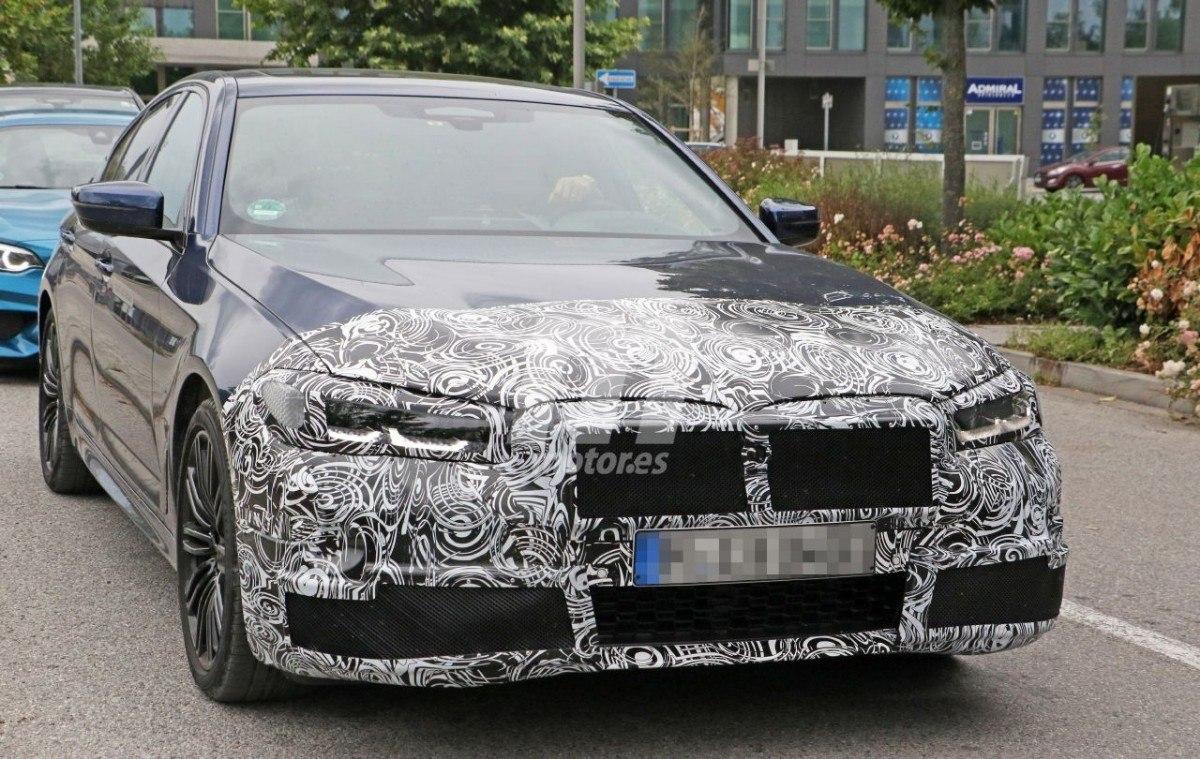 Nuevas fotos espía confirman el lavado de cara del BMW Serie 5 Berlina