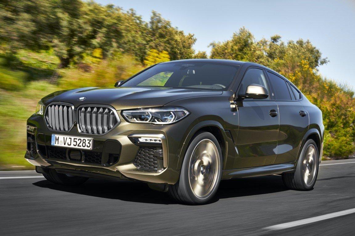 BMW X6 2020, la tercera generación del género SUV coupé debuta oficialmente
