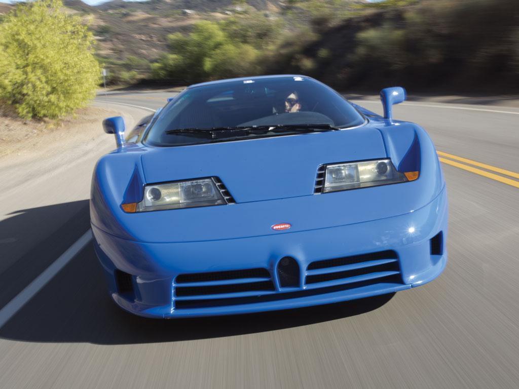La próxima edición limitada de Bugatti será un homenaje al EB110