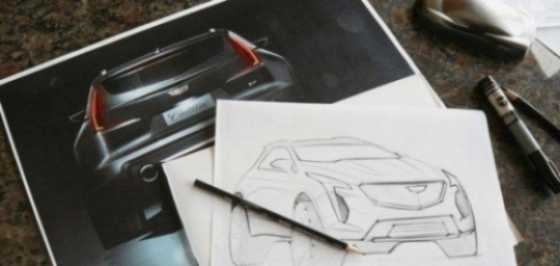 Aparece la primera imagen del nuevo Cadillac XT4-V