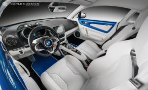El Alpine A110 estrena interior gracias a Carlex Design