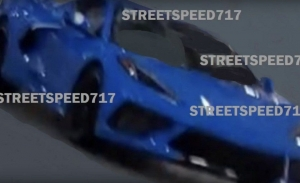 El Chevrolet Corvette C8 supuestamente filtrado al desnudo