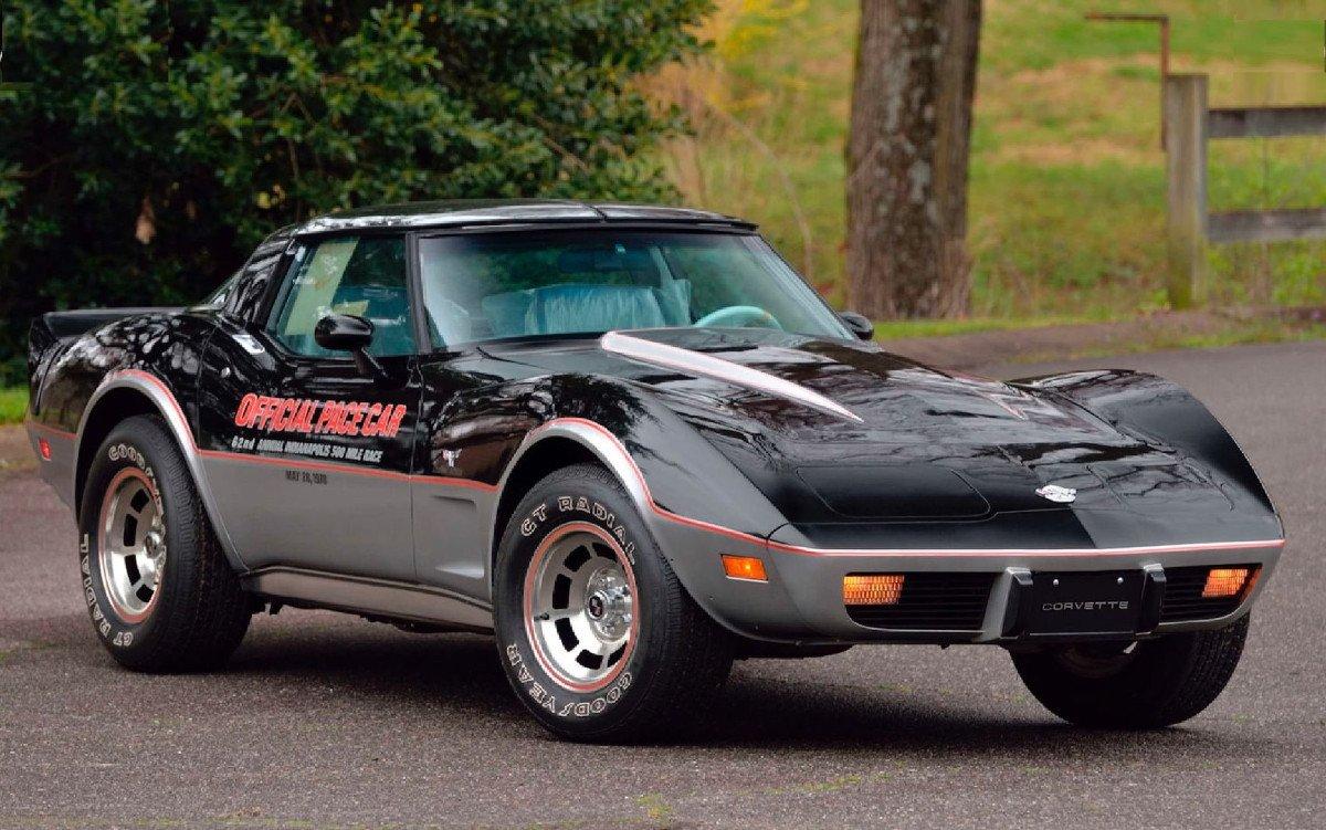 Aparece un Chevrolet Corvette Stingray Pace Car Edition 1978 a estrenar 4 décadas después