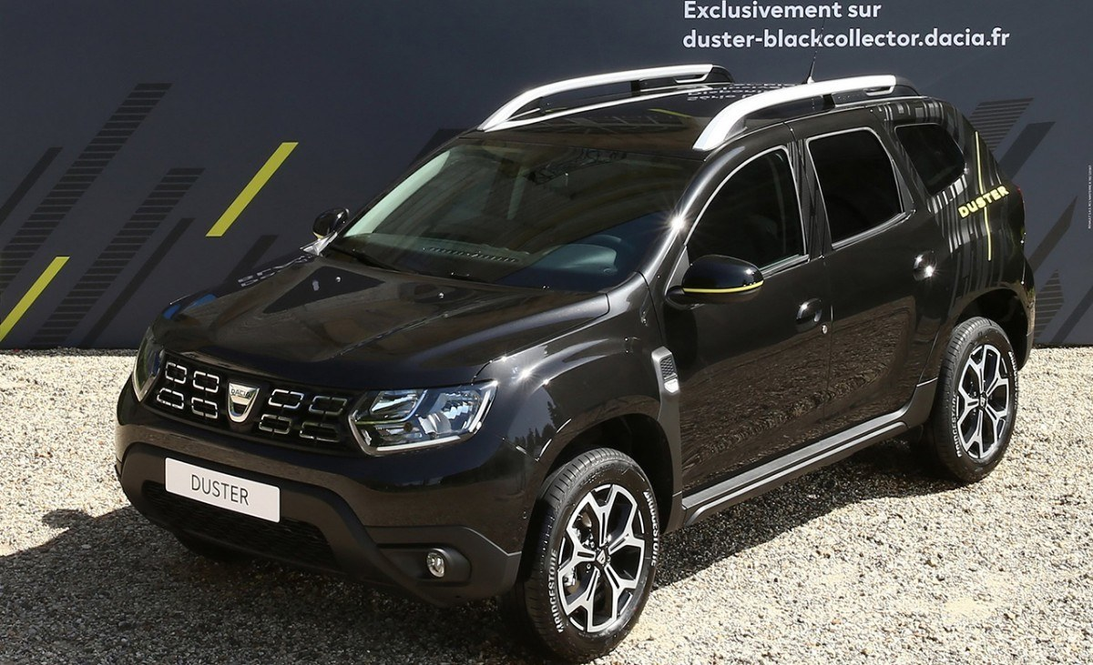 Dacia Duster Black Collector, una edición limitada destinada a Francia