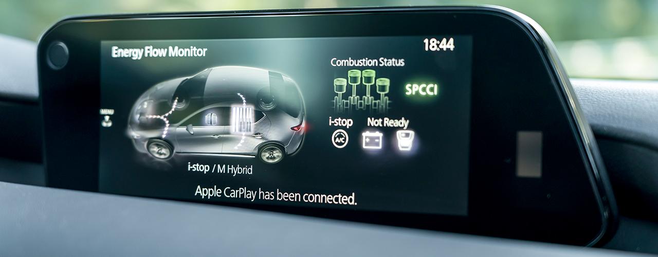 Prueba Mazda3 Skyactiv-X, así funciona el encendido por compresión controlado por chispa
