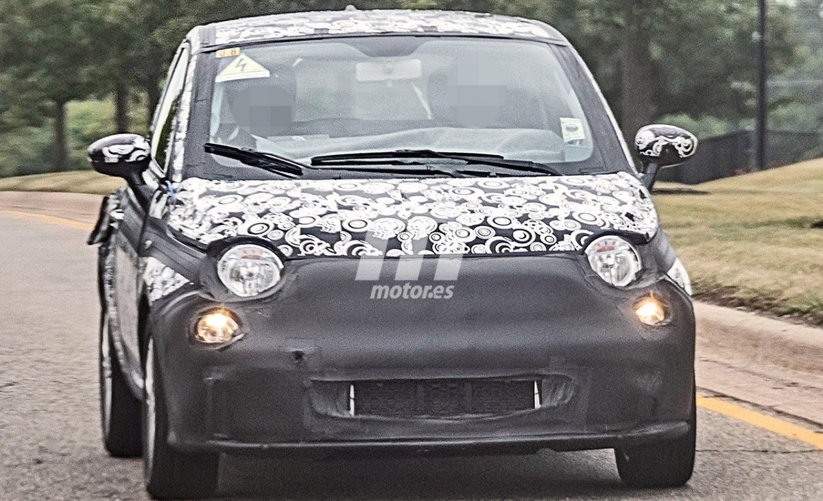 El nuevo Fiat 500 eléctrico es cazado, llegará en 2020 y será fabricado en Italia