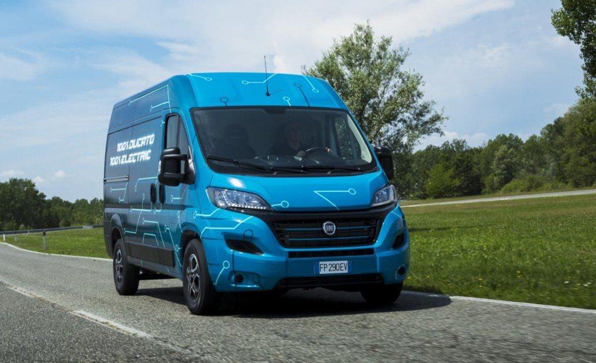 Fiat Ducato Electric, la nueva furgoneta eléctrica con 360 km de autonomía
