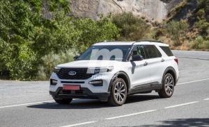 El nuevo Ford Explorer híbrido enchufable se deja ver por España