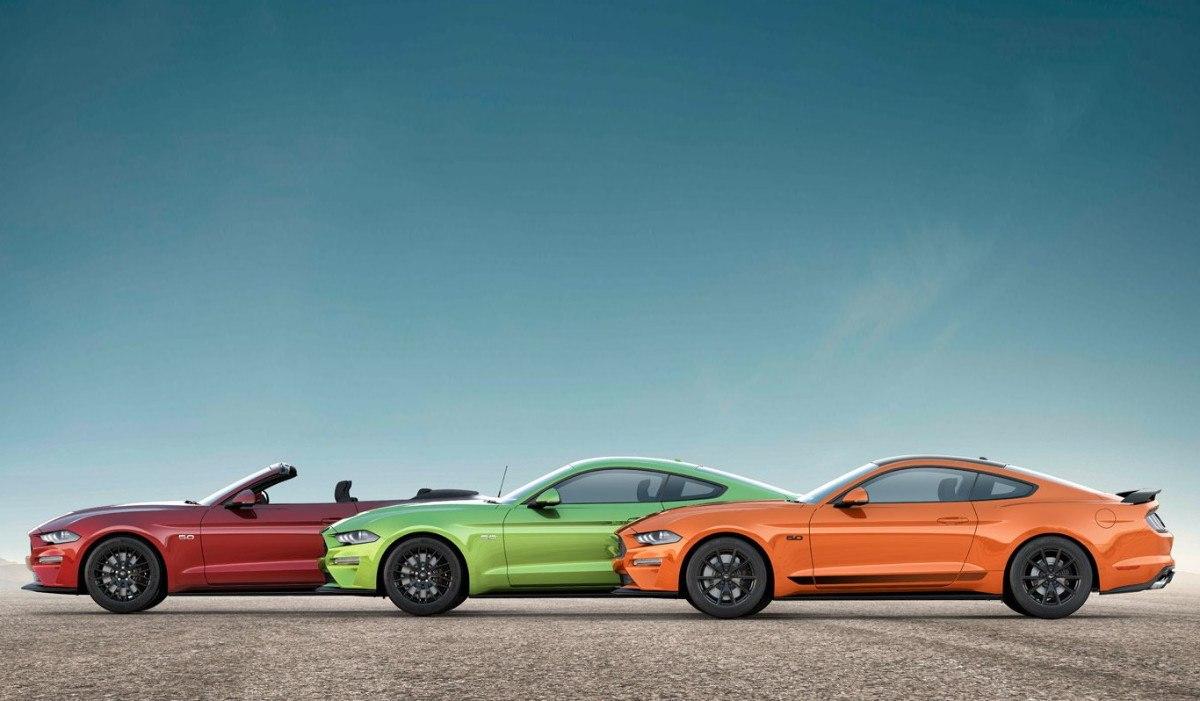 El Ford Mustang 2020 estrena pack y nuevos colores vintage en Australia