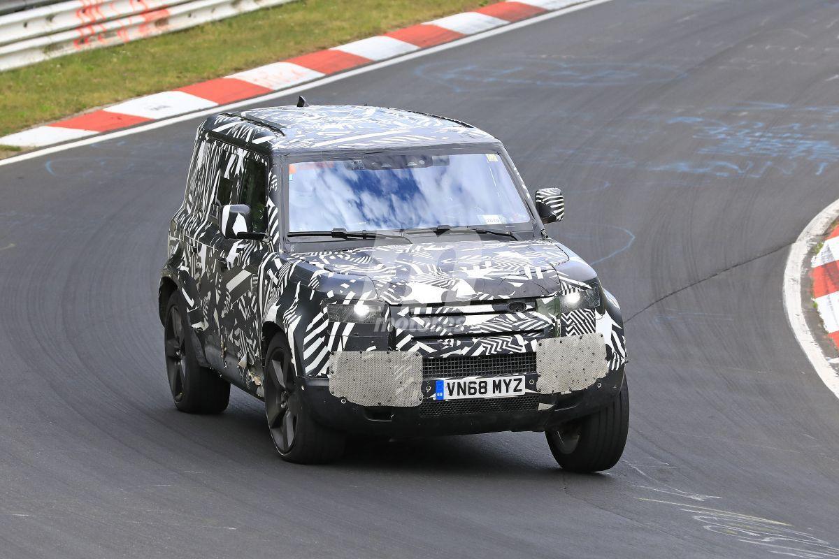 El nuevo Land Rover Defender 110 se enfrenta de nuevo al Nürburgring