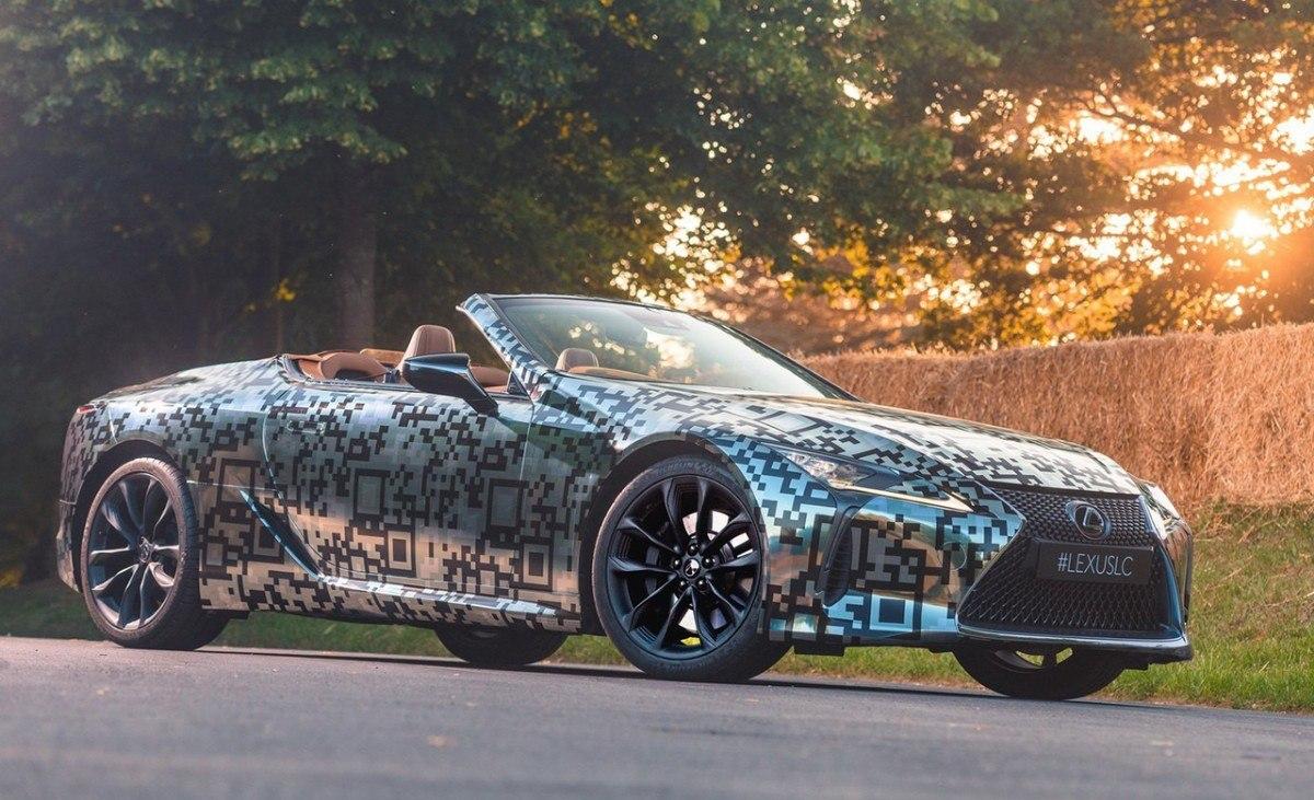 El Lexus LC Cabrio será una realidad, la marca anuncia su producción