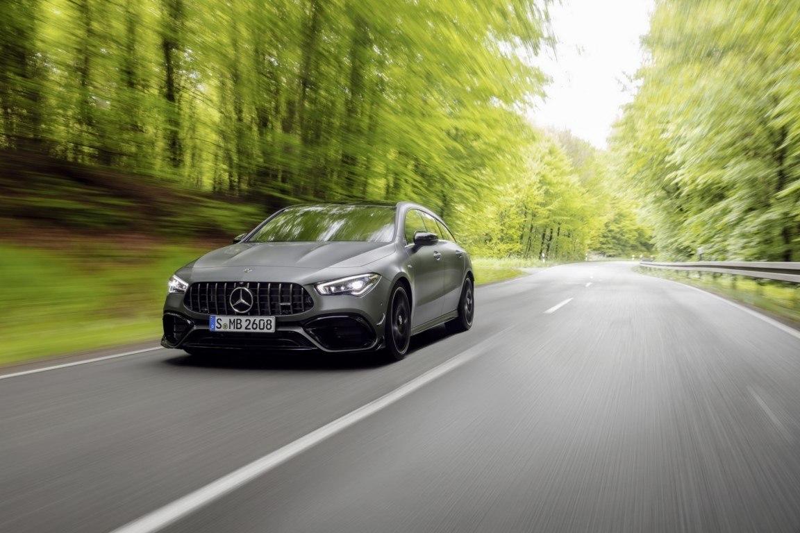 Mercedes-AMG CLA 45 4MATIC+ Shooting Brake, el misil compacto de la estrella debuta