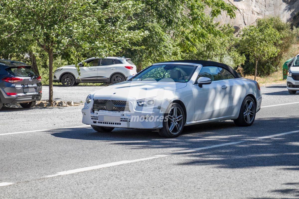 El nuevo Mercedes Clase E Cabrio 2020 se pasea por España