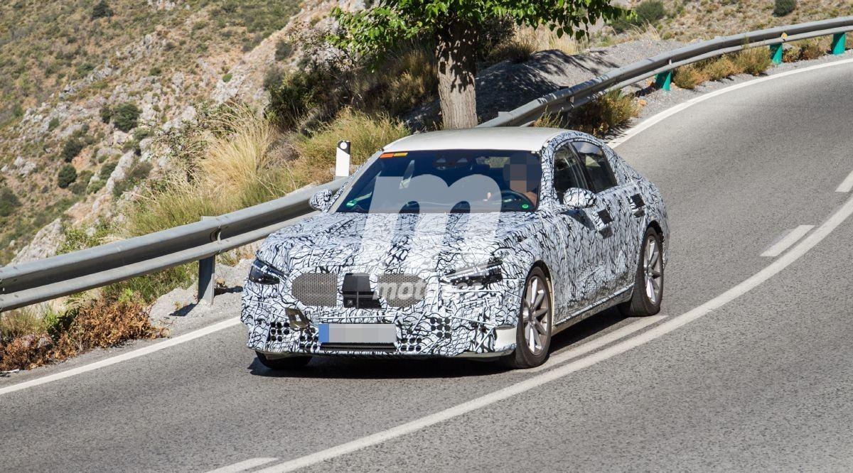 Mercedes comienza las pruebas del futuro Clase S híbrido enchufable