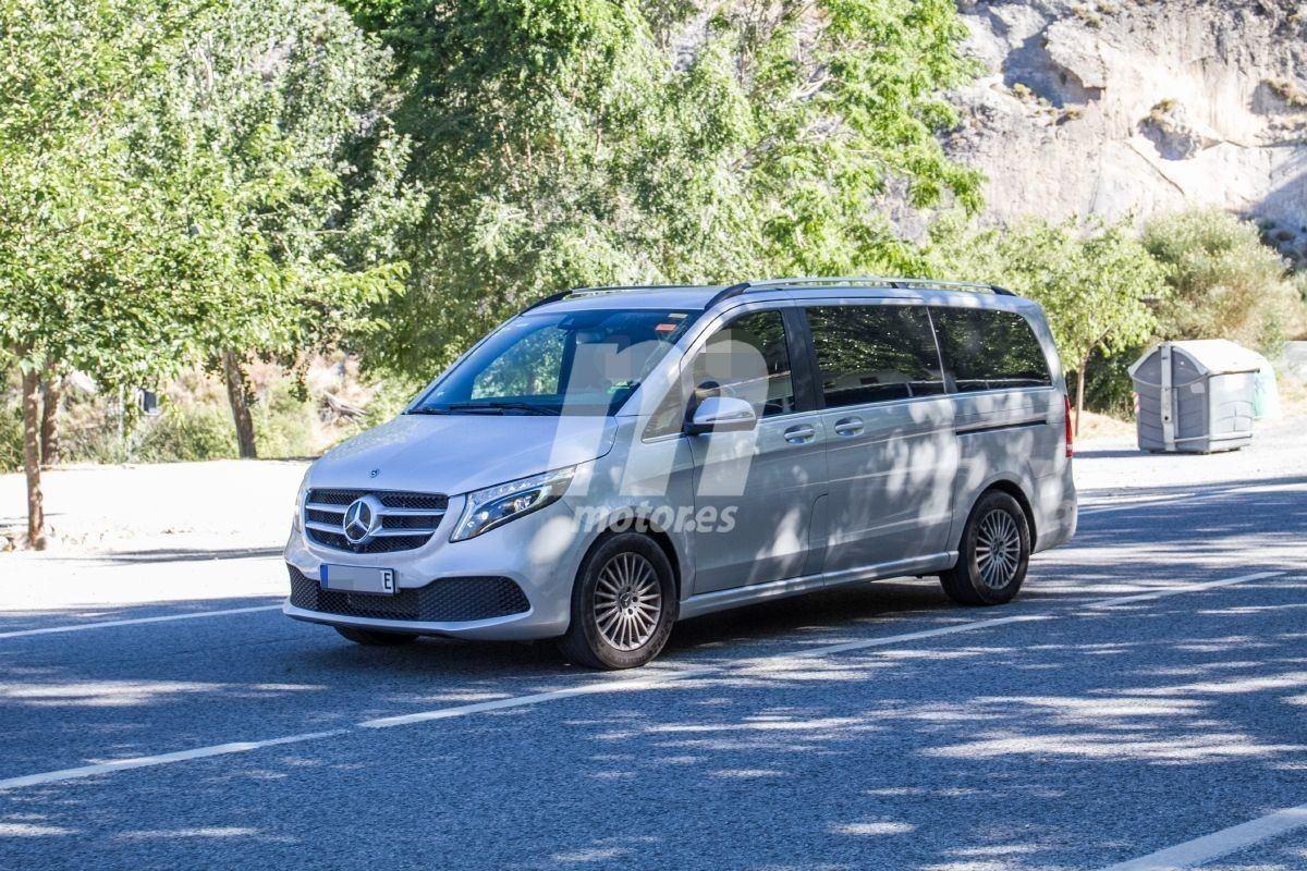 El Mercedes EQV, una furgoneta eléctrica, debutará en agosto