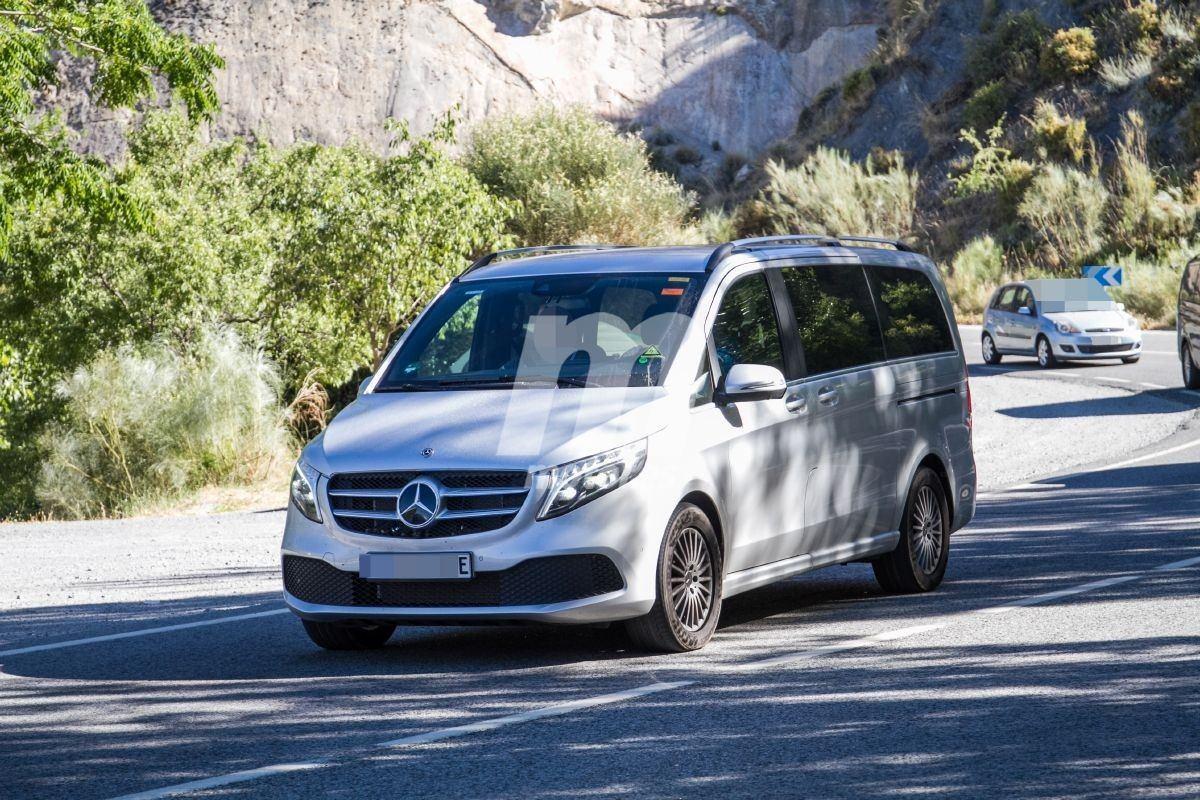 Mercedes EQV, el desarrollo de la furgoneta eléctrica está en marcha