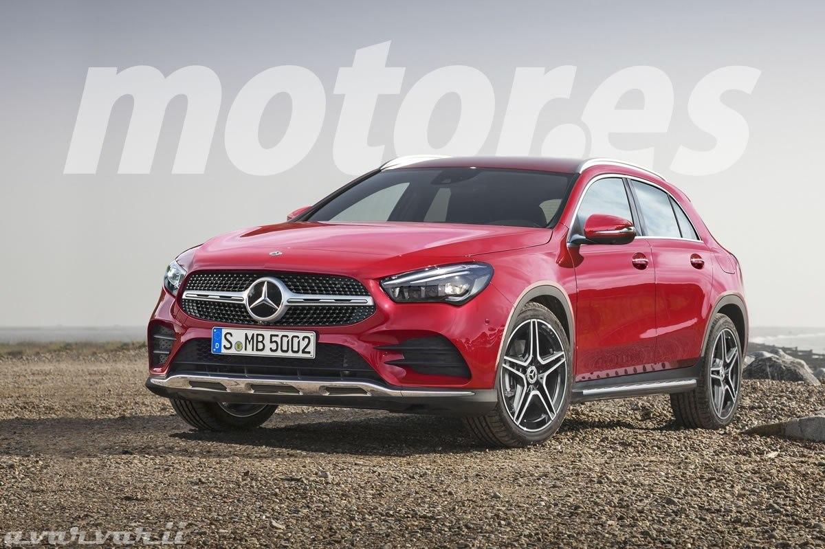 Mercedes GLA 2020, vislumbrando la nueva generación del crossover alemán