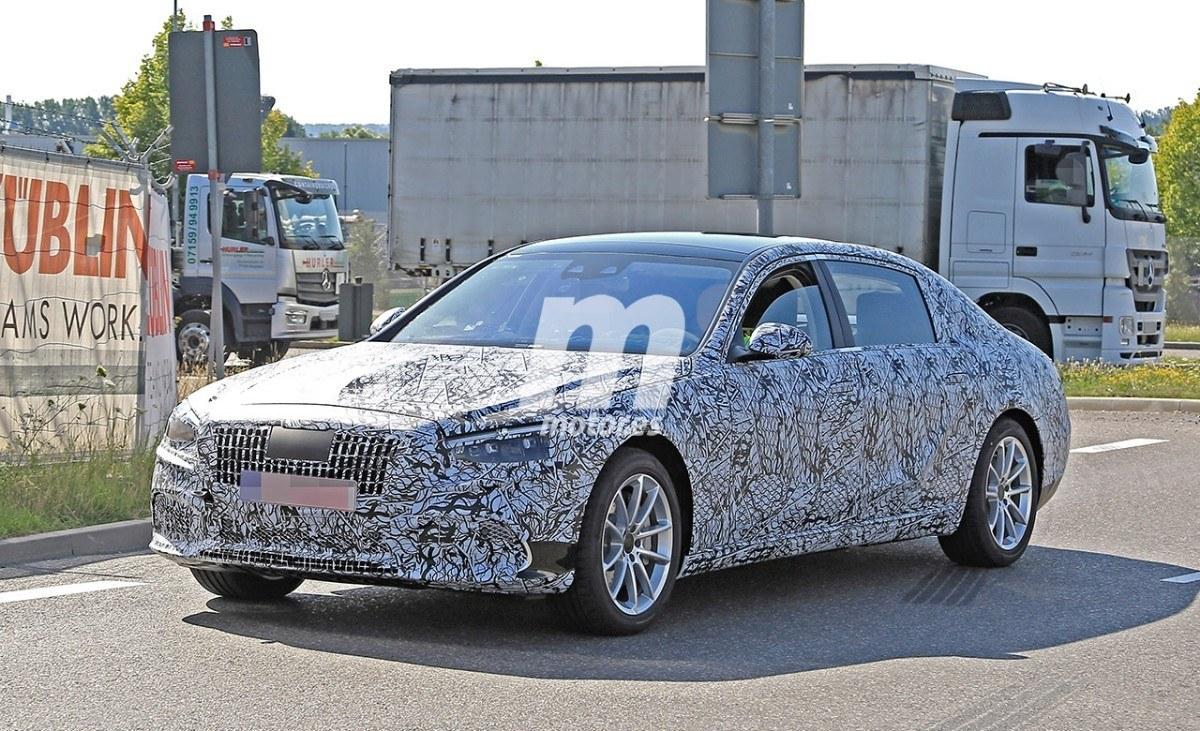 Mercedes-Maybach Clase S 2020, cazada la nueva generación de la berlina de lujo