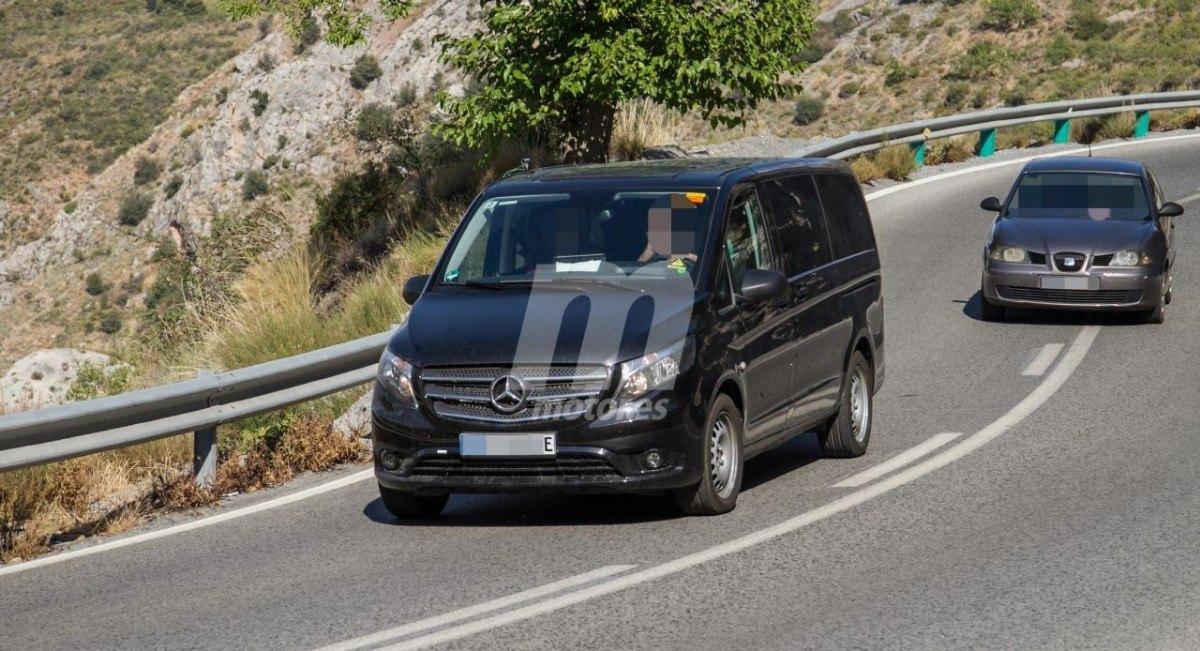 Cazamos a la Mercedes eVito Tourer: 114 CV, 41 kWh y 190 km de autonomía