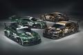 Bentley desvela las libreas 'centenario' para las 24 Horas de Spa