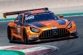 El nuevo Mercedes-AMG GT3 debuta con éxito en Portimao