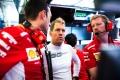 Vettel no sonríe