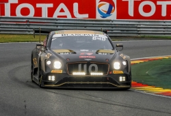 Bentley se queja del injusto 'BoP' de las 24 Horas de Spa