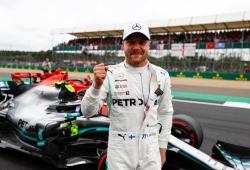 "Bottas se anota la pole en casa de Hamilton: ""Por estos momentos soy piloto"""