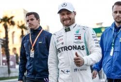 """Mercedes tomará una decisión sobre Bottas """"a partir de agosto""""; Ocon es una opción"""