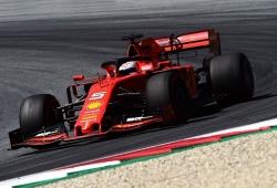 """Ferrari encuentra """"claridad"""" en su línea de desarrollo y Vettel no descarta el título"""