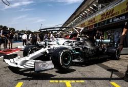 Hamilton, sin demasiada fe en la mejora de refrigeración de Mercedes para Hockenheim