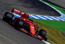 Leclerc y Vettel confirman su control del viernes en Hockenheim