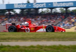 Mick Schumacher pilotará el Ferrari F2004 de su padre en Hockenheim