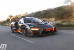 Prueba McLaren Senna: un homenaje a la altura del nombre (con vídeo)