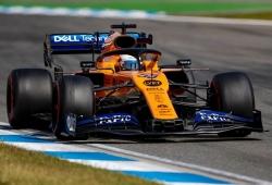 """Sainz teme el resurgir de Racing Point: """"Han ido muy rápido, es real"""""""