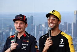 Según Horner, la marcha de Ricciardo ha sido clave en la madurez de Verstappen