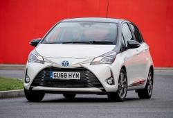 Reino Unido - Junio 2019: El Toyota Yaris establece una nueva marca personal
