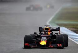 Verstappen gana una caótica carrera con lluvia y mil y un incidentes en Hockenheim
