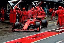 Vettel sufre y acaba en el podio, Leclerc brilla... y acaba en el muro