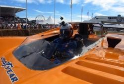 [Vídeo] Carlos Sainz, a bordo del mítico McLaren M8D Can-Am en Goodwood