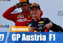 [Vídeo] Resumen del GP de Austria de F1 2019