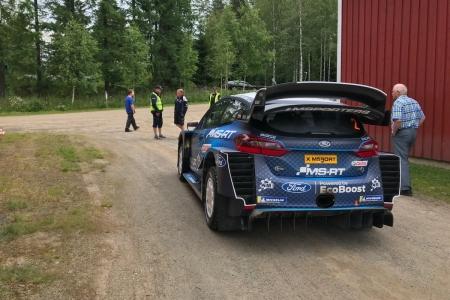 M-Sport empieza con los test previos del Rally de Finlandia