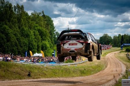 Tänak gana por segunda vez con Toyota el Rally de Estonia