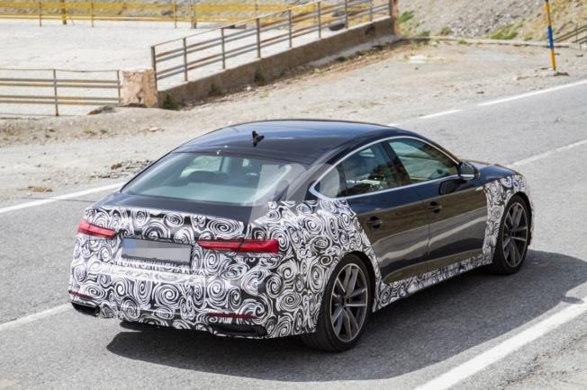 Audi A5 Sportback 2020 - foto espía posterior