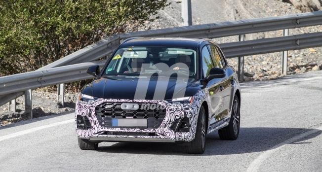 Audi Q5 2021 - foto espía frontal