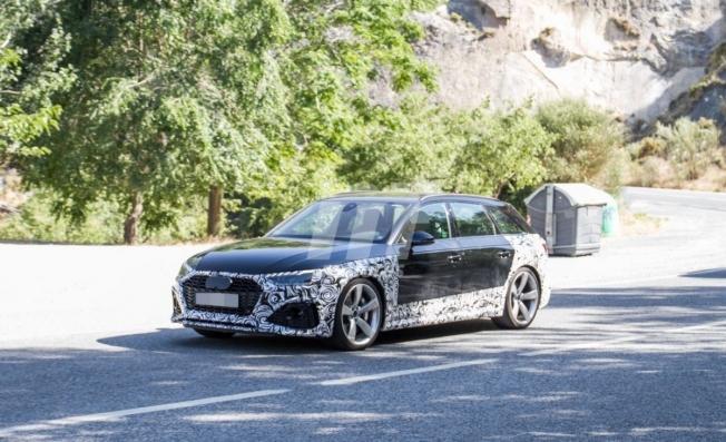 Audi RS 4 Avant 2020 - foto espía